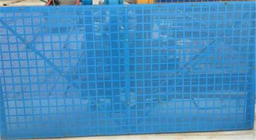 建筑爬架网安装施工