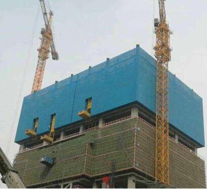 安全建筑爬架网片