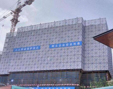 新型高层建筑爬架网
